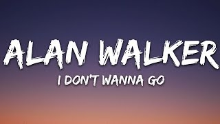 Alan Walker I Don t Wanna Go ft Julie Bergan