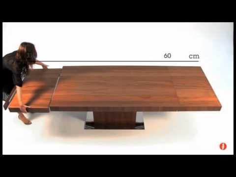 Calligaris park medium extralong extending wooden table for Tavolo modern calligaris