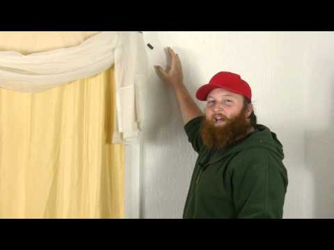 How to Find the Window Stud to Hang Curtains on Plaster Walls : Plaster Walls