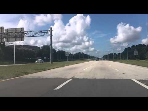 Driving Southside Blvd Jacksonville Fl Florida