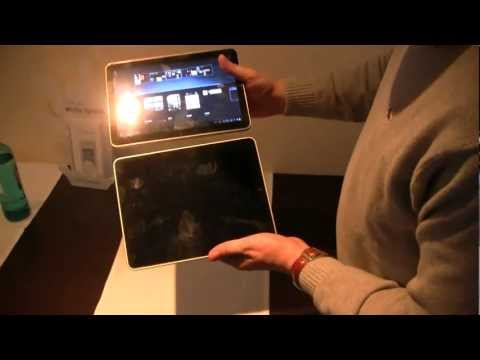 Samsung Galaxy Tab 10.1v vs Apple iPad