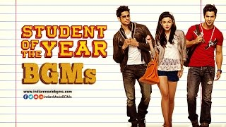 Student of The Year BGMs | Jukebox | IndianMovieBGMs