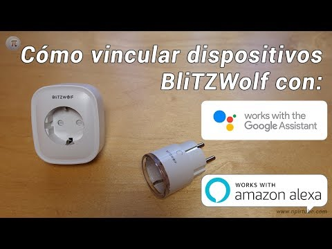 💡 Cómo vincular tus dispositivos BlitzWolf con Google Assistant y