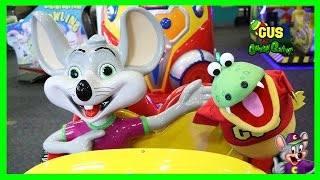 Chuck E Cheese Family Fun Indoor Games for Children !