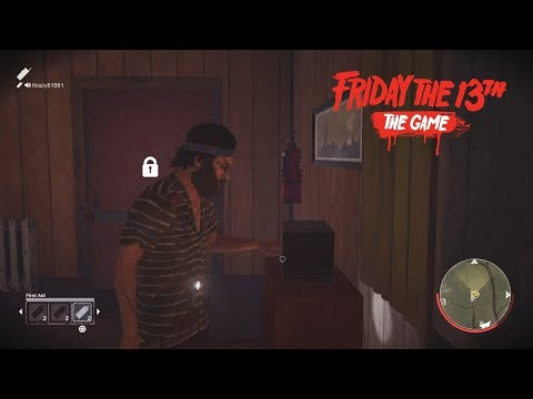"""""""MITCH FLOYD COUNSELOR ON JARVIS HOUSE MAP NEW DLC GAMEPLAY"""" - Friday The 13th The Game"""
