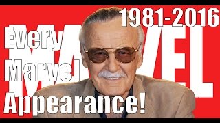 Every Stan Lee Marvel Appearance (1981-2016) thumbnail
