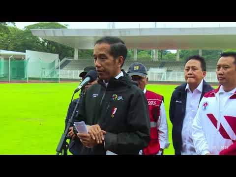 Meninjau Venue Asian Games 2018, 25 Juni 2018
