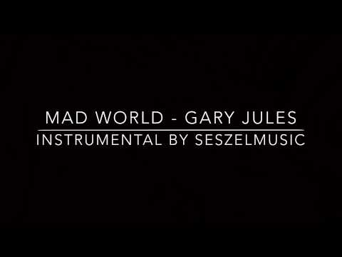 MAD WORLD - Gary Jules Piano Instrumental (Higher Key)