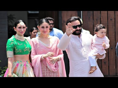 Kareena Kapoor With Taimur Ali Khan, Saif...