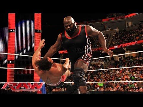 Mark Henry vs. Rusev: Raw, Sept. 22, 2014
