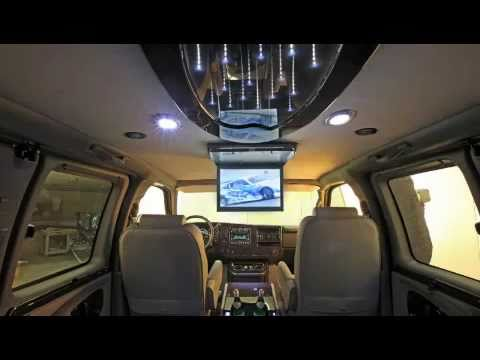 New Conversion Van With Galaxy Custom Interior   YouTube