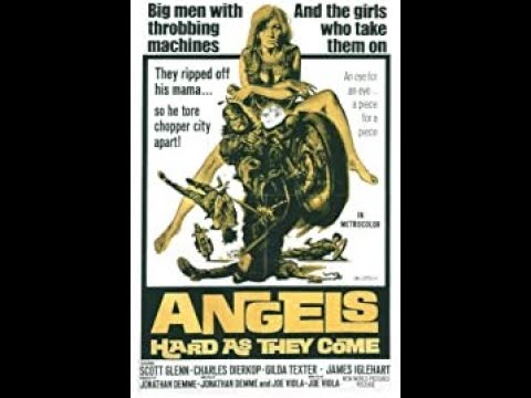 Random Movie Pick - '' angels hard as they come '' - opening credits - 1971. YouTube Trailer