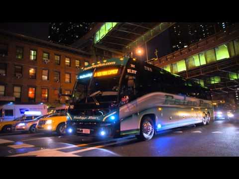 Peter Pan Bus Lines 2013-2014 MCI J4500 784 [ Audio Recording ]