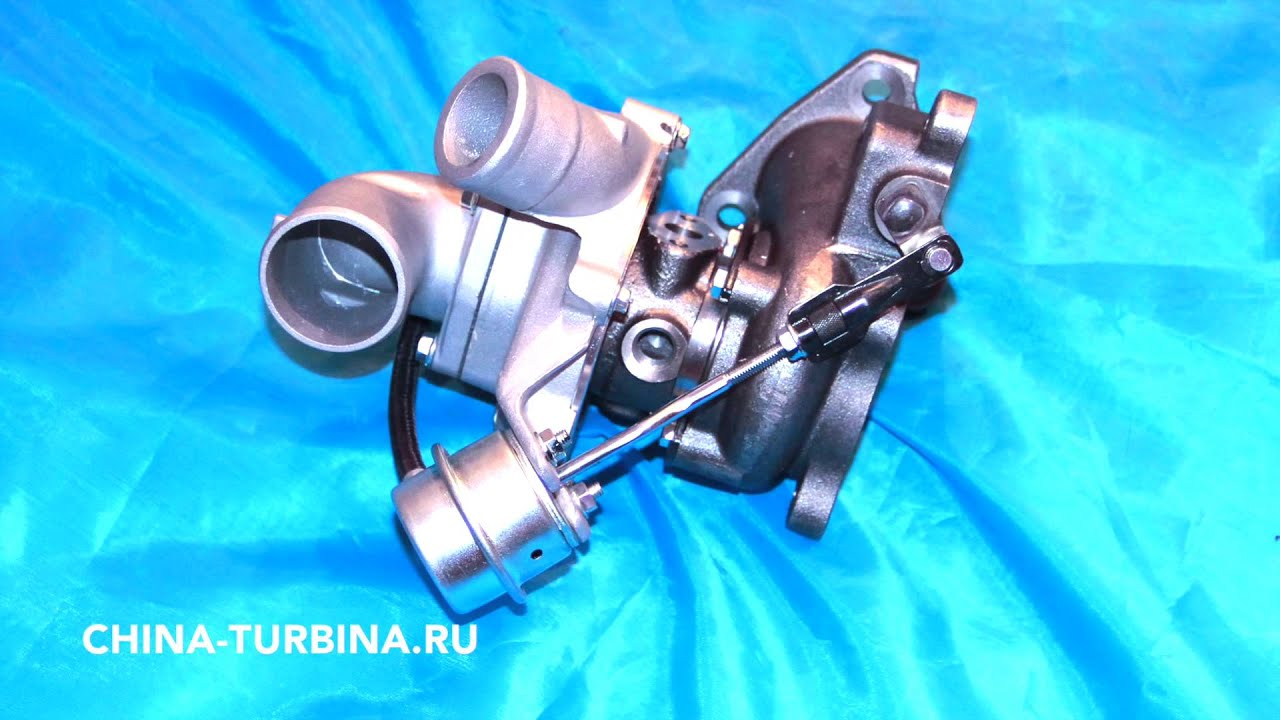 Турбокомпрессор Турбина 28200-42700 двигатель D4BH 4D56TCI Hyundai PORTER II замена 7159245004S