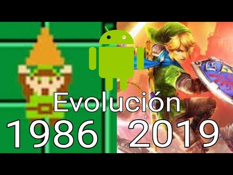 Evolución Android: The Legend Of Zelda (1986 - 2019) Android 2019