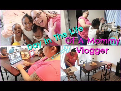 Day in The LIFE of a Single, Stay At HOME Working MOM of 3!. http://bit.ly/2Q6cQQf