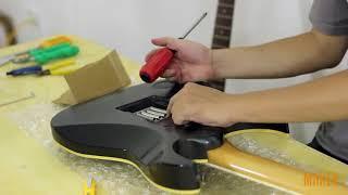 Thay dây và căn chỉnh đàn Electric Guitar sử dụng Floyd Rose 4. Căn chỉnh nhún Floyd Rose
