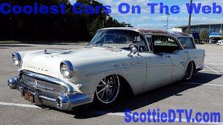 1957 Buick Caballero Station Wagon Hot Rod Cruisin' The Coast 2017