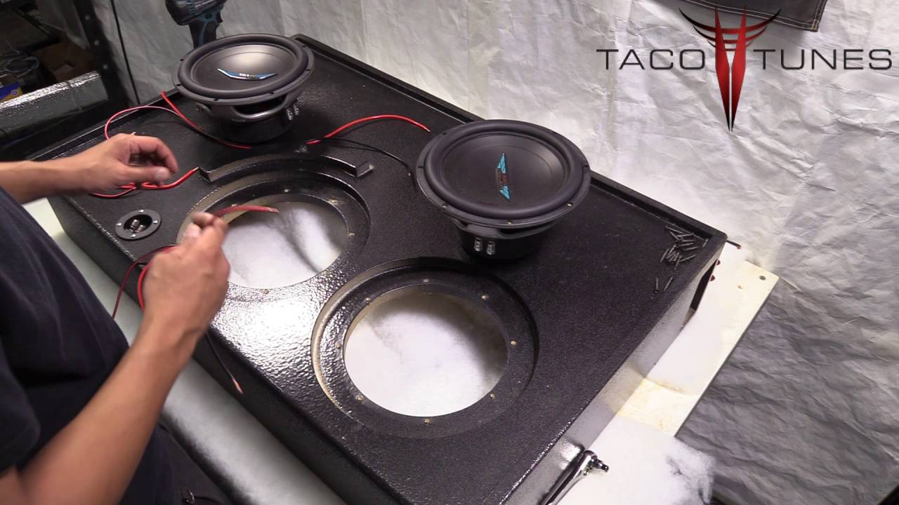 Toyota 4Runner How to wire 2 dual 2 ohm subwoofers for 2 ohm load ...