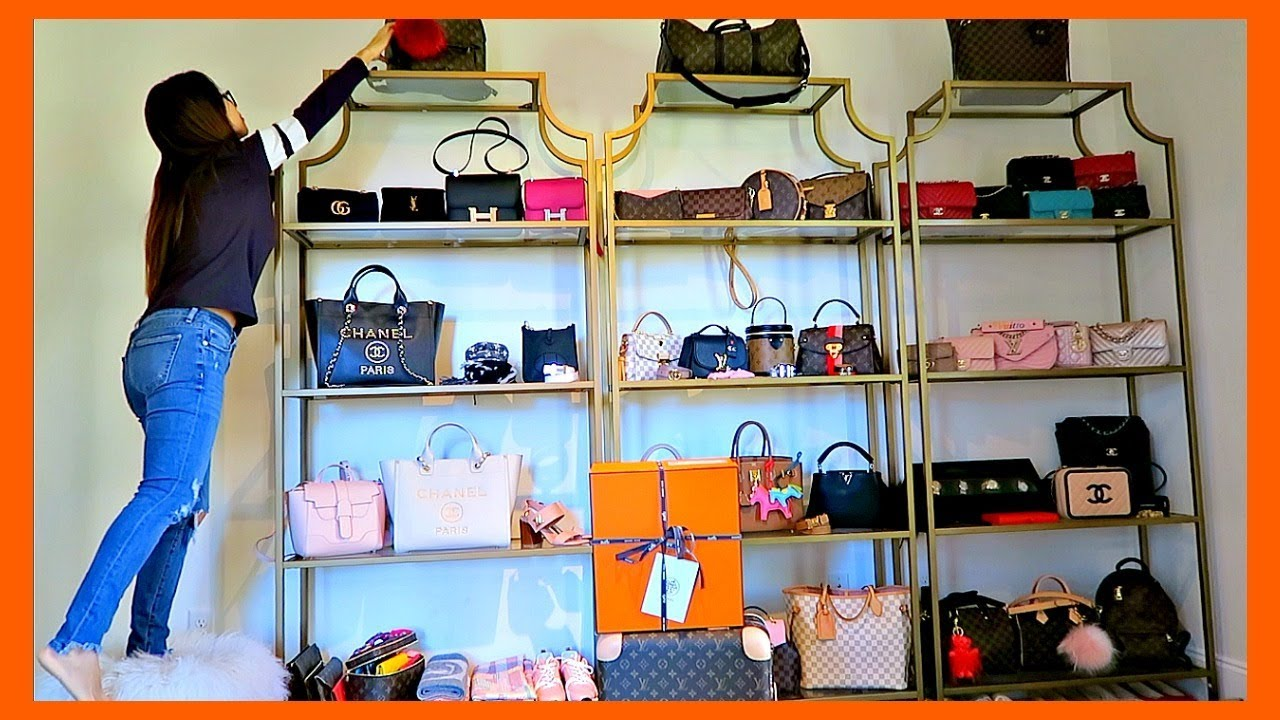 556f52cba8ed52 JOIN ME REORGANIZING MY COLLECTION | HERMES 🍊💼 DELIVERY 📦 VLOG | CHARIS  ❤ . LVloverCC
