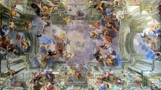 Pozzo, Glorification of Saint Ignatius, ceiling fresco in the nave of Sant