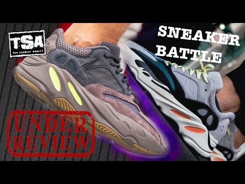 adidas Yeezy 700 Mauve Boost Kanye West Shoe Review + Sneaker Battle VS Wave Runners - RIP Stan Lee