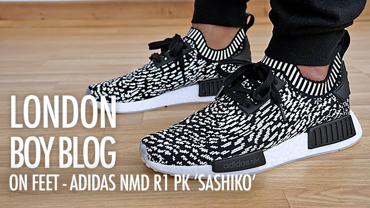 3d25513c99d16 On Feet - Adidas NMD R1 PK  Sashiko  - YouTube