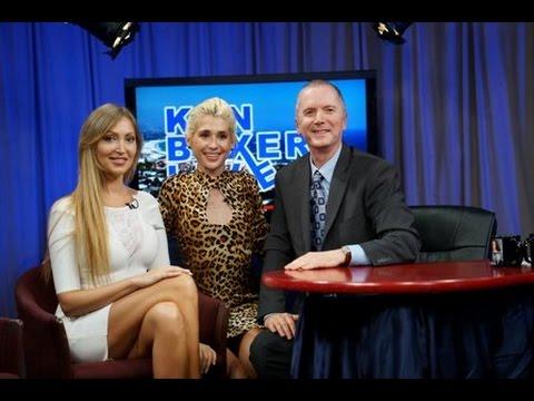 "Interview Veronika MIndal in TV show ""Ken Boxer Live"".California,Santa Barbara 2017"