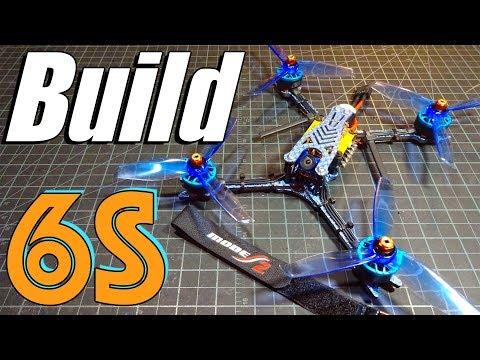 6S Racing Quad Build : Hyperlite 2207 1722kv, Hyperlite F4 OSD, Aikon AK32, Foxeer Micro Predator