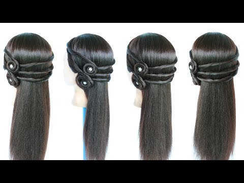 hairstyle for open hair || wedding hairstyles || hair style girl || hairstyle || cute hairstyles