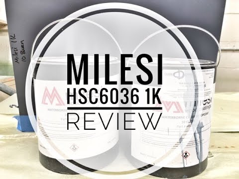 Download Milesi 1K Water Based Finish HSC6036 Review