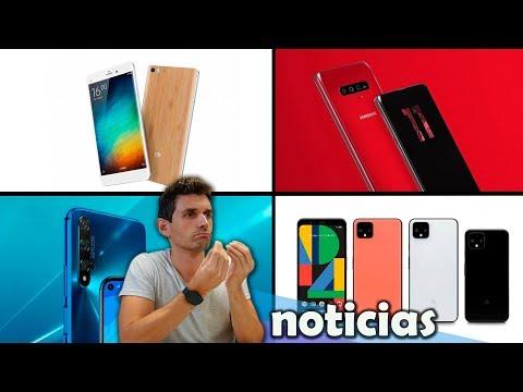 Xiaomi Mi Note 10, precios GOOGLE PIXEL 4, Samsung S11+ ¿con triple cámara frontal?