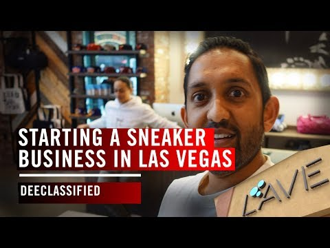 Starting a Sneaker Business in Las Vegas
