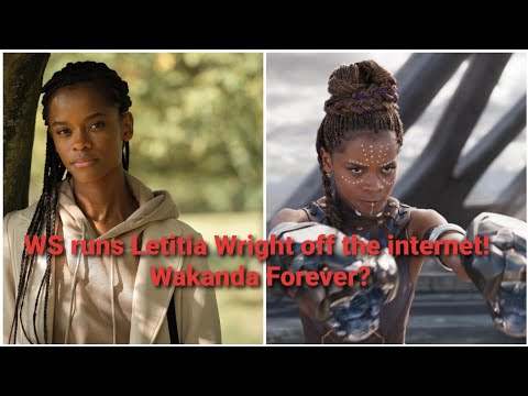 Letitia Wright faces backlash for questioning Covid Vaccine.