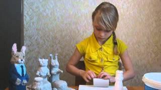 Кукольный театр. Урок 3. Изготовление каркаса для кукол.