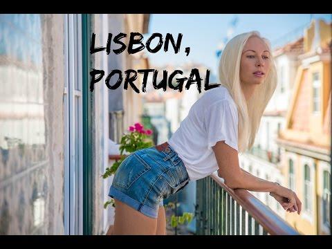 Anastasiya Explores Lisbon, Portugal