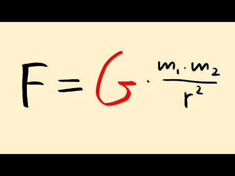 Gravitational Constant: Explained!