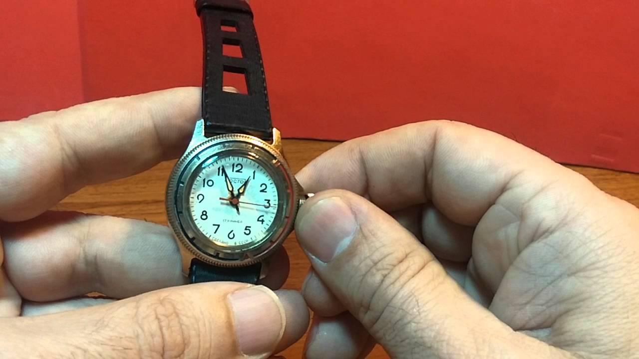 87b69ca1587b Reloj vintage BOSTOK de la antigua URSS de cuerda y 17 rubies by ANTIGUOS  RELOJES