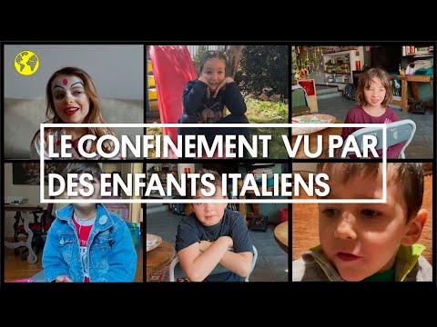 """""""Mes copains me manquent beaucoup"""": le confinement vu par des enfants italiens"""