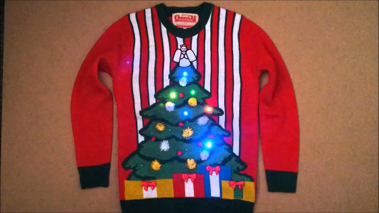 Christmas Jumper With Lights Decoratingspecial Com