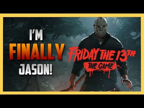I'm FINALLY Jason in Friday the 13th The Game!