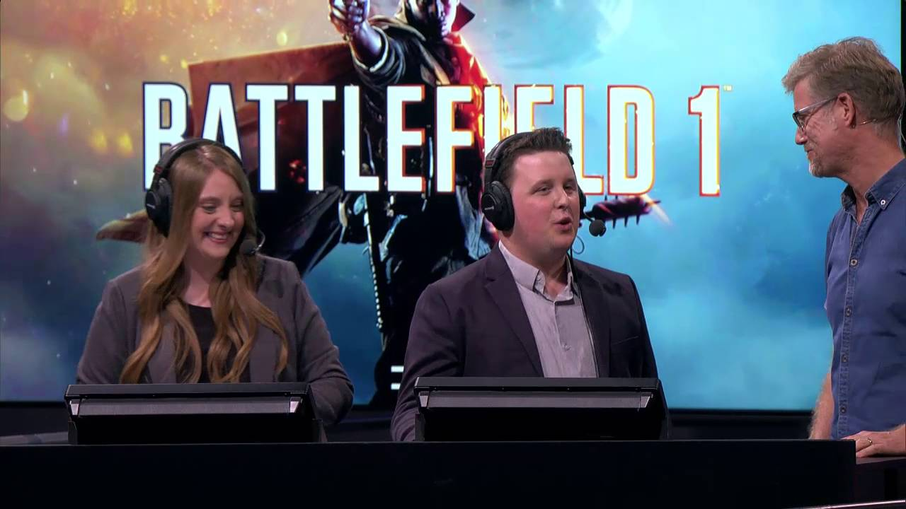 Battlefield 1 Live at Gamescom 2016 - Battlefield 1 Live at Gamescom 2016