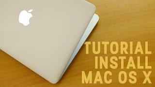 Tutorial Install Mac