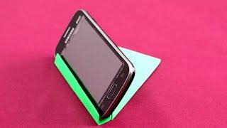 Cómo hacer un soporte para el teléfono de origami