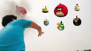 Angry Birds in Real Life