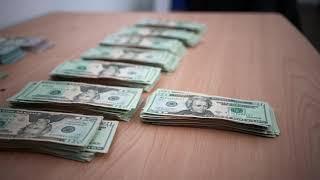 Saving money - Counting lots of cash over 15k - Motivation ASMR