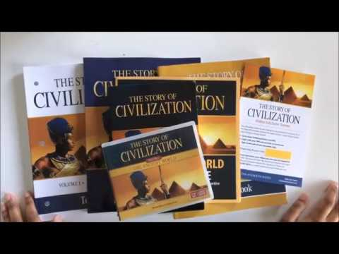 Homeschool Curriculum Choices Part 1║2018-2019║History║The Story of Civilization