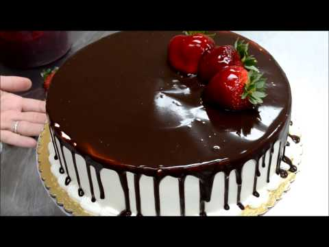 How to Make Birthday Cake - Less then 2min Fruit and Chololate Design Birthday Cake