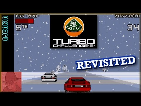 Lotus Turbo Challenge 2 - on the Commodore Amiga !! - REVISITED