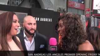 Dany Garcia & Dave Rienzi @ San Andreas Movie Premiere | Black Hollywood Live